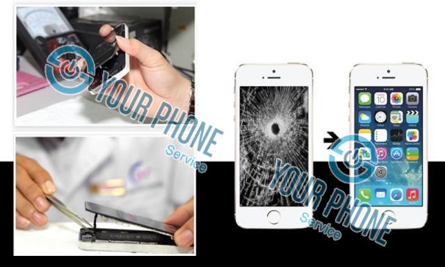 Nguyên nhân phải thay ép kính iPhone 6