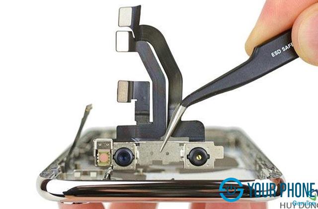 iPhone X bị hỏng camera sau nên làm gì?