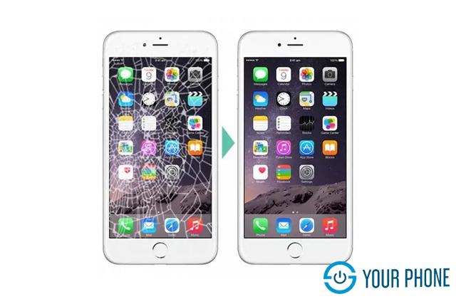 Địa chỉ thay ép kính iPhone 6S Plus giá rẻ uy tín và lấy ngay tại Hà Nội