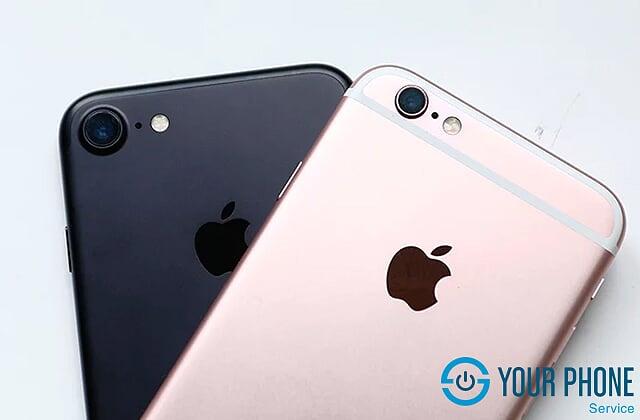 Độ vỏ từ iPhone 6 lên iPhone 7