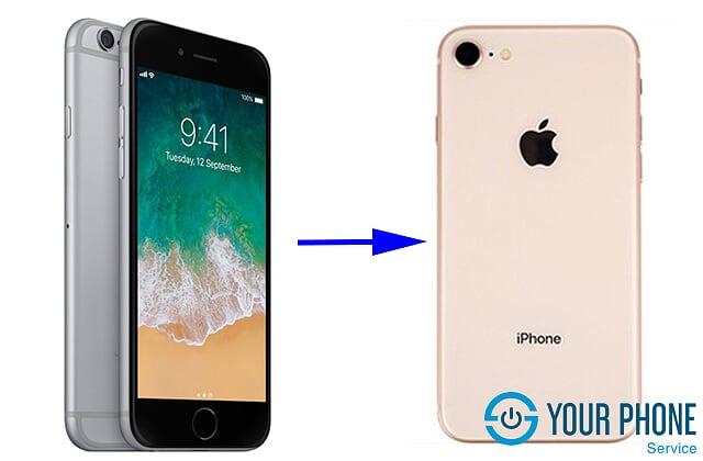 Tại sao nên độ vỏ iPhone 6 lên 8?