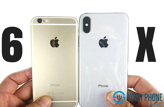 Tại sao cần độ vỏ điện thoại iPhone 6 lên X?