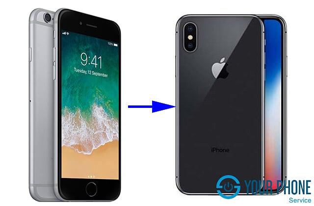 Dịch vụ độ vỏ iPhone 6 lên X tại Yourphone Service đảm bảo chất lượng, uy tín giá rẻ