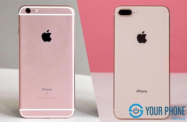 Dịch vụ độ vỏ iPhone 6 Plus lên iPhone 8 Plus
