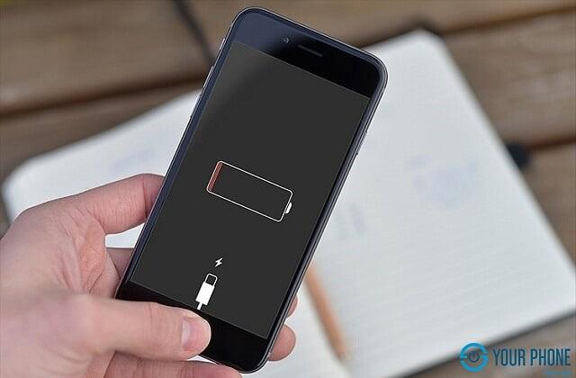 Hỏng pin hay lỏng cáp pin cũng gây mất nguồn iPhone