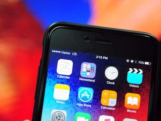 iPhone bị mất sóng do nguồn kết nối máy có vấn đề