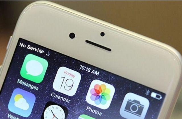 iPhone bị mất sóng