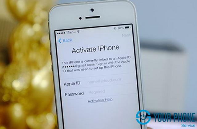 Dịch vụ mở khóa iCloud tại Yourphone Service