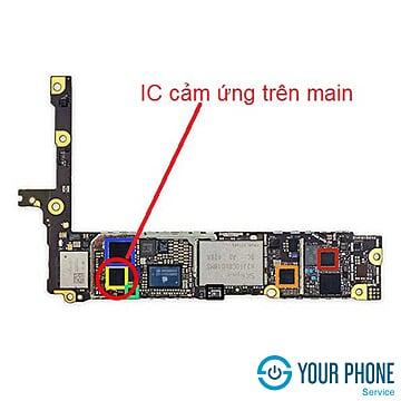 Sửa main – ic cảm ứng iPhone 6S lấy ngay, giá rẻ tại Hà Nội
