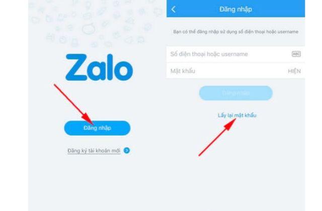 Quên mật khâu tài khoản Zalo cần làm gì?