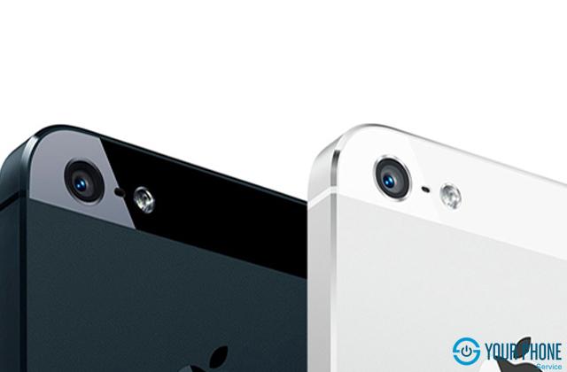 Camera sau điện thoại iPhone 5