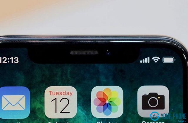 Nguyên nhân dẫn đến iPhone X phải thay camera trước