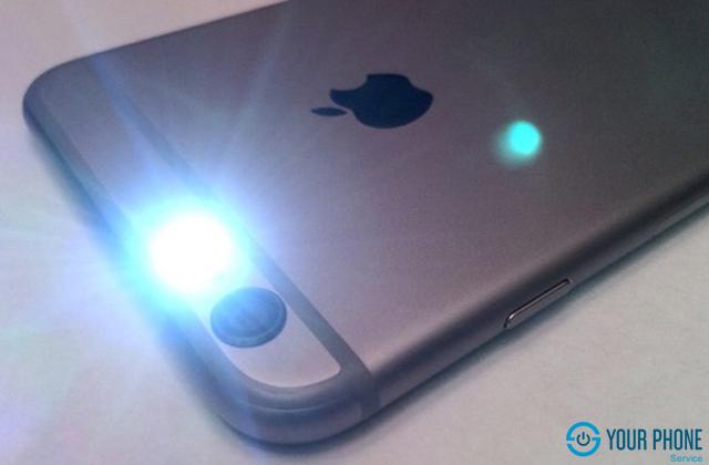 Một số nguyên nhân khiến iPhone 6S mất đèn flash