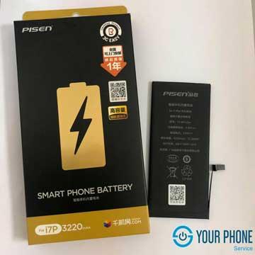 Thay pin Pisen dung lượng cao iPhone 7 Plus chính hãng, lấy ngay tại Hà Nội