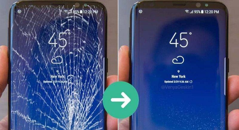 Khi nào cần thay mặt kính Samsung S9