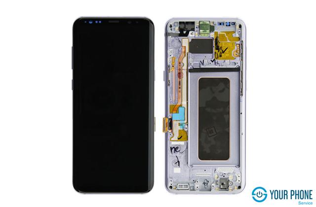 Quy trình thay màn hình Samsung S8 plus