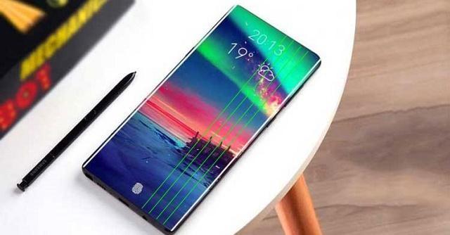 Thay màn hình Samsung Note 10 bị kẻ sọc