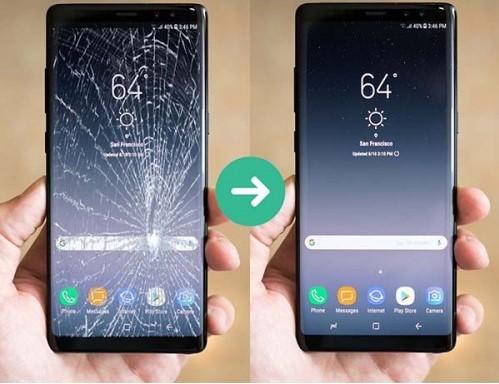 Thay mặt kính điện thoại Samsung Galaxy S8