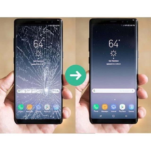 Thay ép kính Samsung Note 9 uy tín, giá rẻ tại Yourphone
