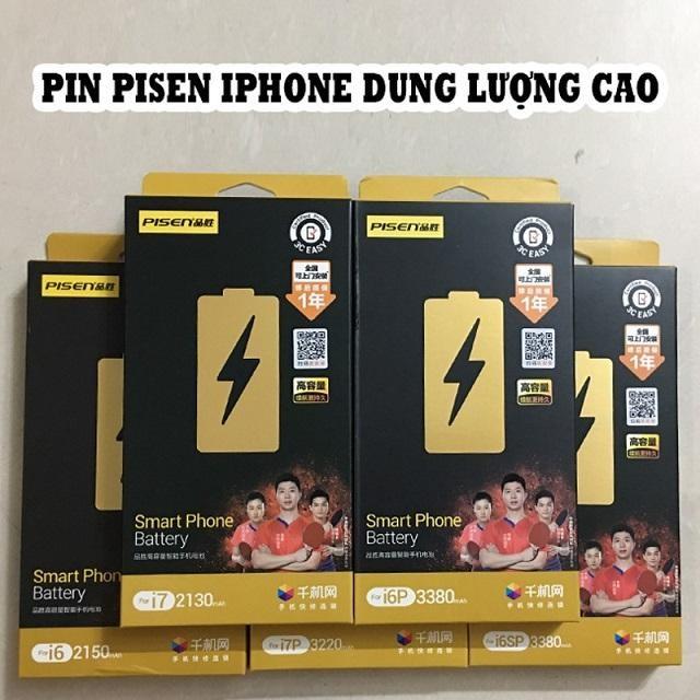 Đánh giá pin pisen dung lượng cao cho iPhone 6s