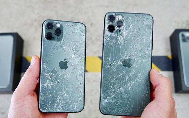 Mặt kính vỡ ảnh hưởng nghiêm trọng đến iPhone 11 Pro Max