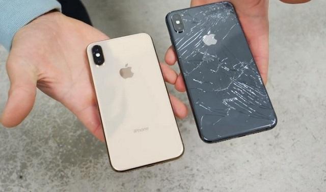 Thay kính lưng sau nắp lưng iPhone XS Max giá tốt
