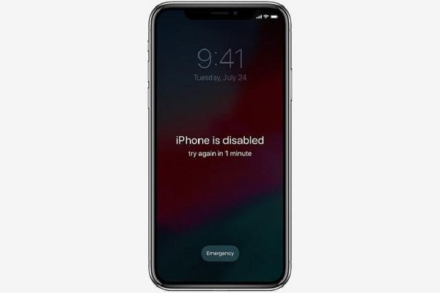 Cách xử lý iPhone bị vô hiệu hoá đơn giản và hiệu quả tại nhà