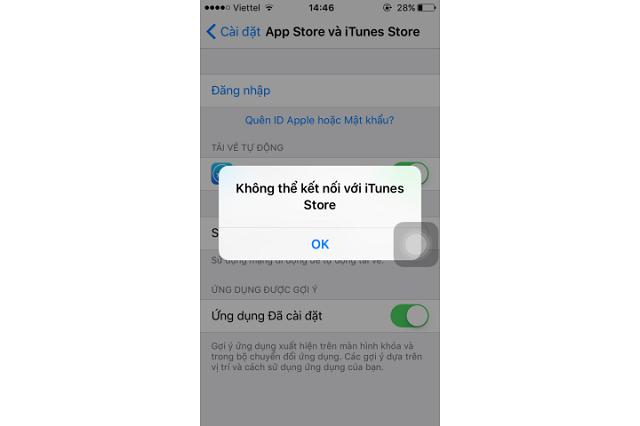 """Những lỗi """"đăng nhập ID Apple không được"""" phổ biến"""