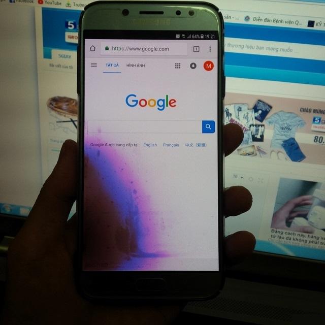 Phân biệt giữa thay màn hình và thay mặt kính Samsung J7 Plus?