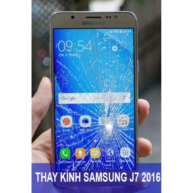 Thay mặt kính điện thoại Samsung J7 2016 khi bị vỡ