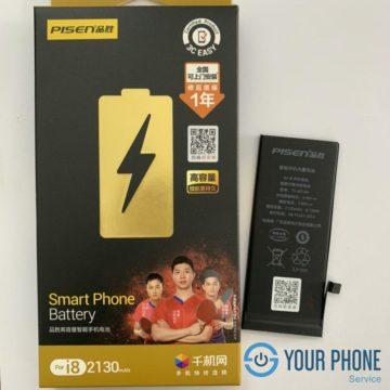 Thay pin Pisen iPhone 8 dung lượng cao uy tín, giá rẻ tại Hà Nội