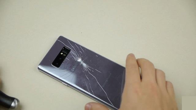 Yourphone thay nắp lưng Samsung Note 8 uy tín, giá rẻ tại Hà Nội