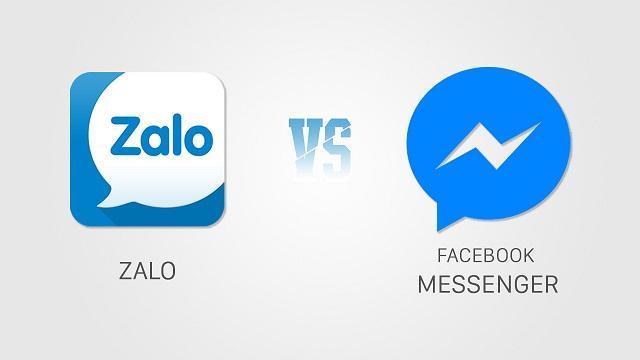 Đặng nhập lại ứng dụng Messenger và Zalo