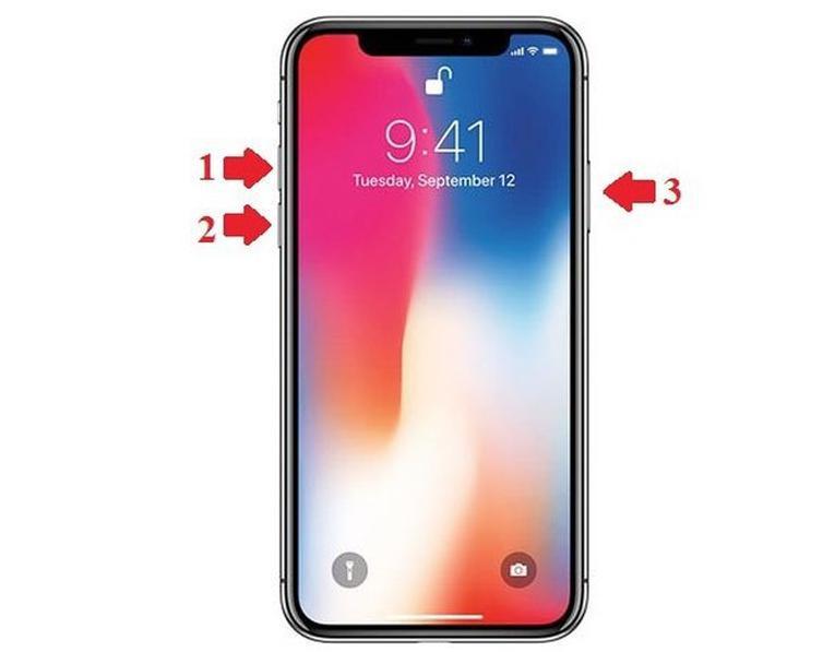 Hướng dẫn reset lại máy khi iPhone bị treo táo