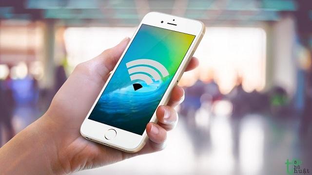 iPhone không vào được wifi