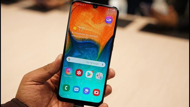 Điện thoại Samsung A30
