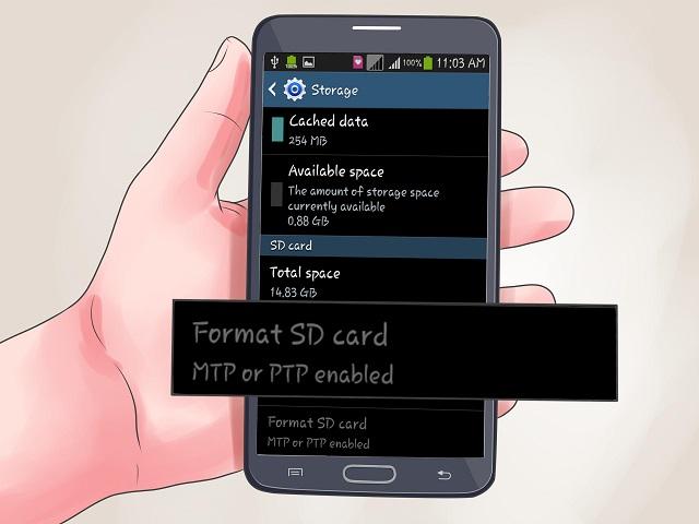 Format thẻ nhớ