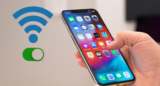 iPhone bắt được wifi nhưng không có mạng
