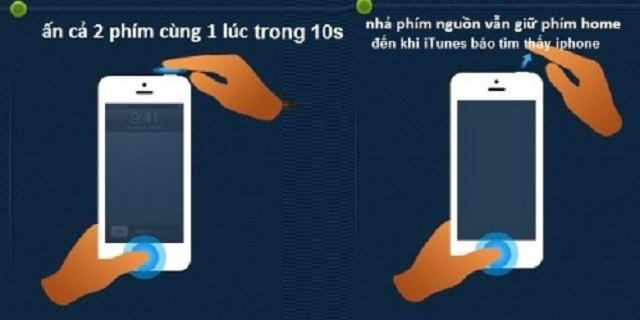 Khắc phục iPhone bị đen màn hình do xung đột phần mềm