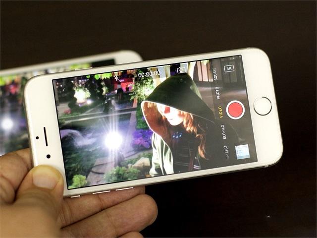 Lỗi camera sau iPhone bị ngược