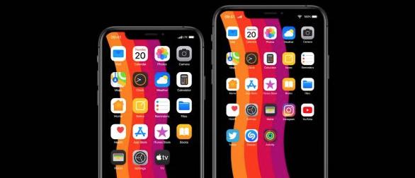 Màn hình chính iPhone sử dụng iOS 14