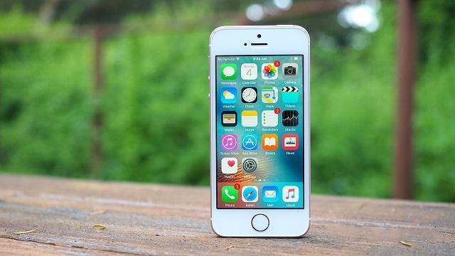 Màn hình điện thoại iPhone bị liệt
