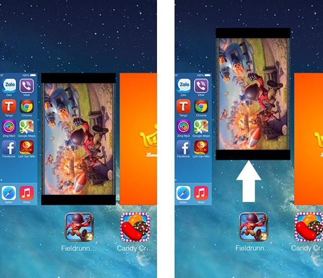 Tắt ứng dụng không phù hợp trên iPhone