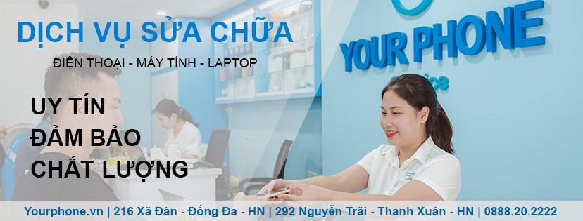 Yourphone thay pin iPhone chính hãng, giá rẻ tại Hà Nội