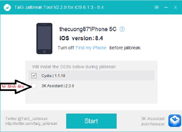 Công cụ Jailbreak dành cho iPhone