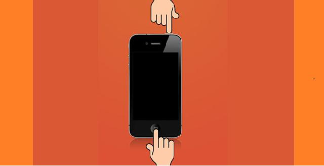 Khi máy bị treo hệ điều hành iOS nên sử dụng nút nguồn và home giữ để tắt nguồn