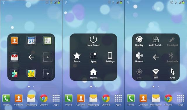 Tạo nút home ảo cho máy Android
