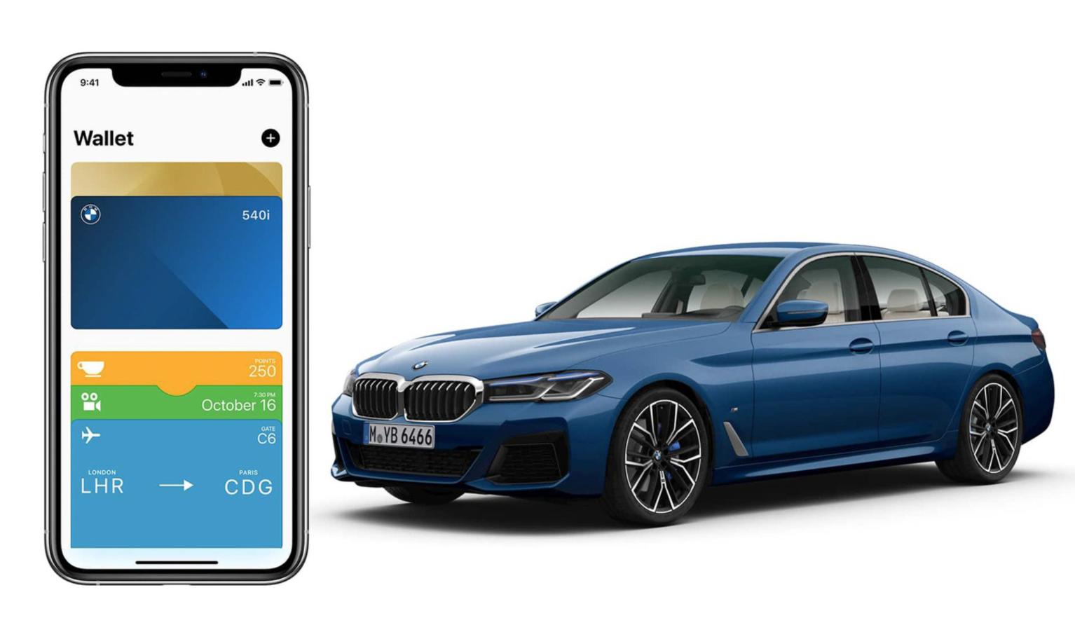 Bạn có thể mở khoá xe, khởi động xe và chia sẻ chìa khoá Digital Key cho bạn bè