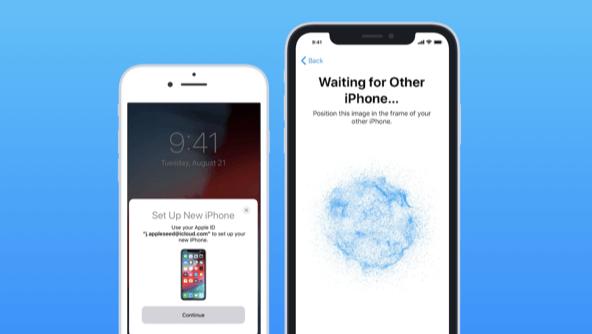 iPhone mới sẽ hiển thị mã hoá dạng đám mây xanh