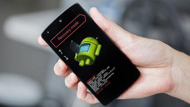 Thiết lập điện thoại Samsung về trạng thái Recovery